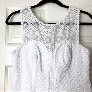 Lilly Pulitzer Dresses - Lily Pulitzer white lace shift dress 2